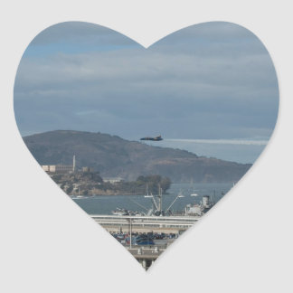The Blue Angels Head to Alcatraz jpg Sticker