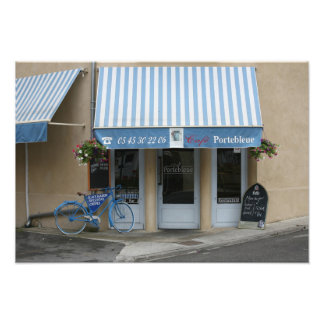 THE BLUE BICYCLE PHOTO ART