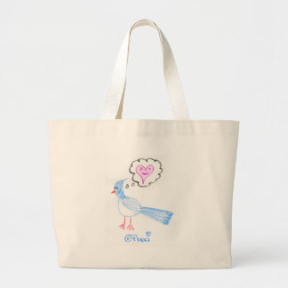 The Blue Bird of Happiness Tote Bag