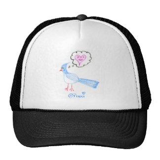 The Blue Bird of Happiness Mesh Hats