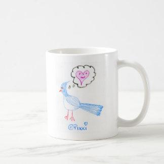 The Blue Bird of Happiness Coffee Mug