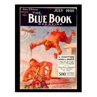 The Blue Book Magazine _July 1930_5_Pulp Art Postcard
