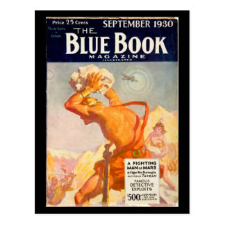 The Blue Book Magazine _September 1930_4_Pulp Art Postcard