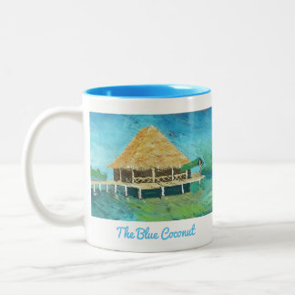The Blue Coconut - Bocas Del Toro, Panama Mug