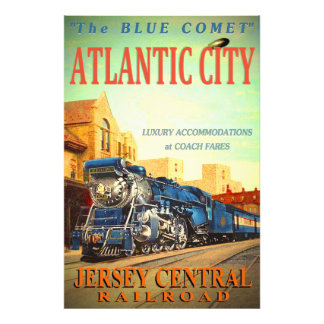 The Blue Comet Train Kodak Photo Print