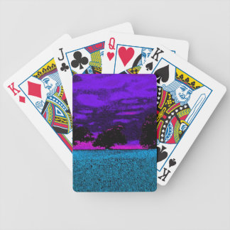 THE BLUE FIELD BICYCLE PLAYING CARDS
