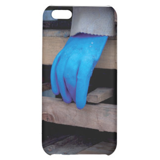 The Blue Glove Cover For iPhone 5C