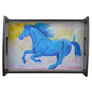 The Blue Horse Service Trays