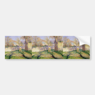 The Blue House by Guy Rose Bumper Stickers