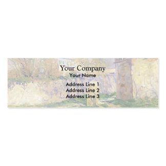 The Blue House by Guy Rose Business Cards