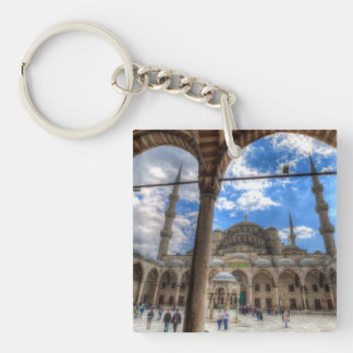 The Blue Mosque Istanbul Key Ring