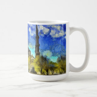 The Blue Mosque Istanbul Van Gogh Coffee Mug