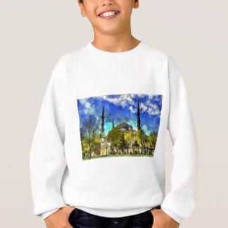 The Blue Mosque Istanbul Van Gogh Sweatshirt