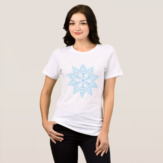 The blue pattern of the sun T-Shirt