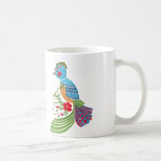 The Blue Quetzal Classic White Coffee Mug