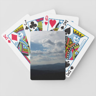 The Blue Ridge Mountains Bicycle Playing Cards