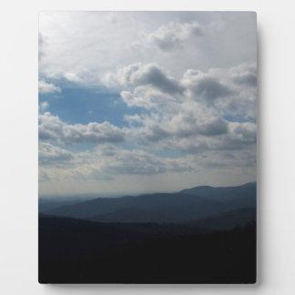 The Blue Ridge Mountains Plaque