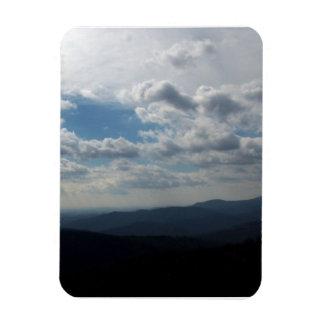 The Blue Ridge Mountains Rectangular Photo Magnet