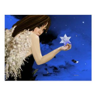 The Blue Star! Postcard