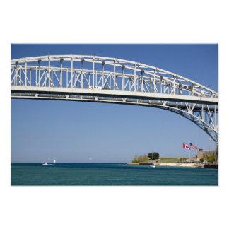 The Blue Water Bridge is a twin-span bridge 2 Photo Print