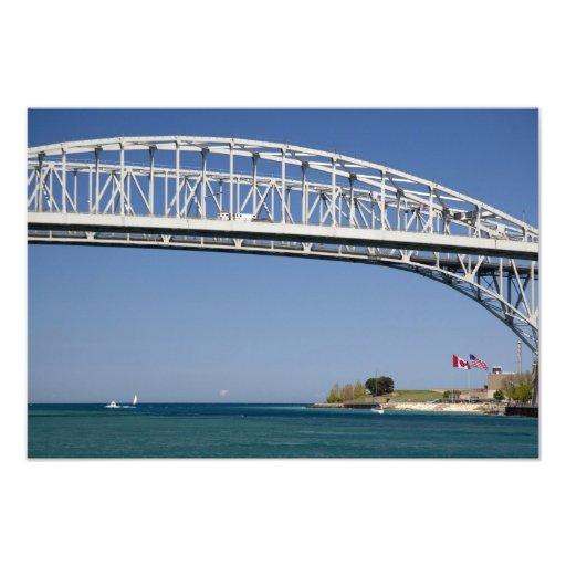 The Blue Water Bridge is a twin-span bridge 2 Photographic Print