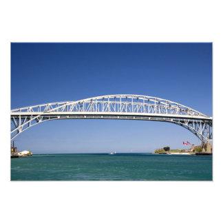 The Blue Water Bridge is a twin-span bridge Photograph