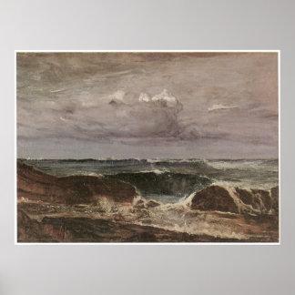 The Blue Wave, James Abbott McNeill Whistler Poster