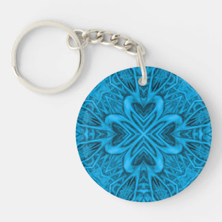 The Blues  Acrylic Keychains, 6 styles Key Ring
