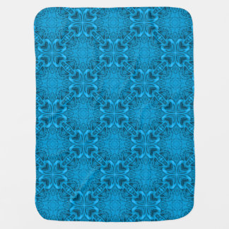 The Blues Kaleidoscope Colorful Baby Blankets