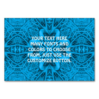 The Blues Kaleidoscope   Tablecards Table Card