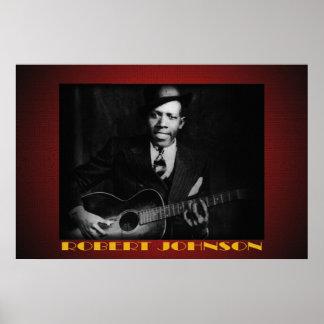 The Blues of Robert Johnson 36 x 24 Poster