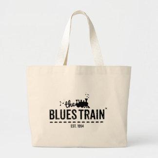 The Blues Train Jumbo Tote Jumbo Tote Bag