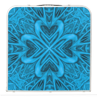 "The Blues  Vintage Kaleidoscope 48"" Pong Table"