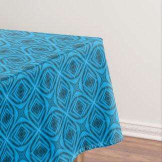 The Blues  Vintage Kaleidoscope   Tablecloth