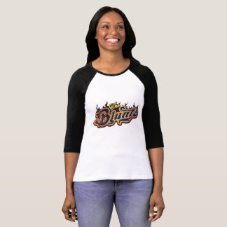 The Blunts Albuquerque Classic Rock Ladies' Raglan T-Shirt