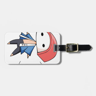 The bo densely it is so English story Odawara Luggage Tag