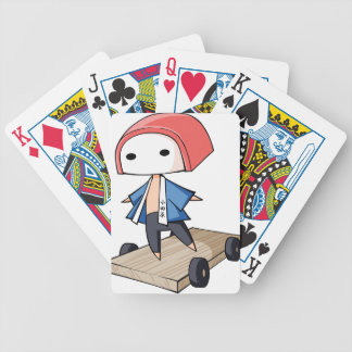 The bo of high class densely it is so English Bicycle Playing Cards