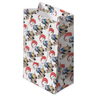 The bo of legend densely it is so English story Small Gift Bag