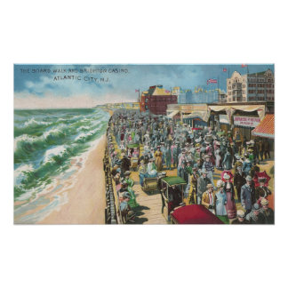 The Board Walk and Brighton Casino Poster