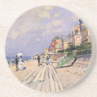 The Boardwalk at Trouville Claude Monet Coaster