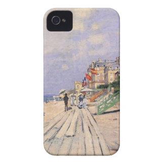 The Boardwalk at Trouville Claude Monet iPhone 4 Cases