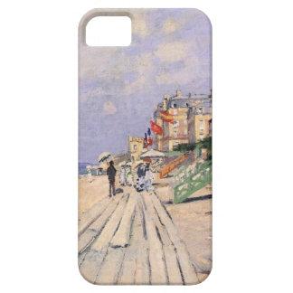 The Boardwalk at Trouville Claude Monet iPhone 5 Cases