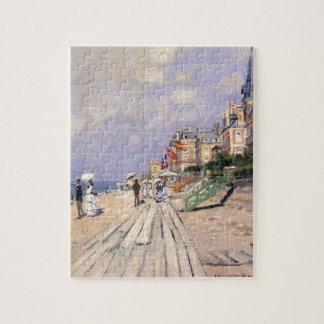The Boardwalk at Trouville Claude Monet Jigsaw Puzzle