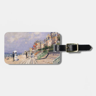 The Boardwalk at Trouville Claude Monet Luggage Tag