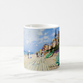 The Boardwalk at Trouville Claude Monet Coffee Mug