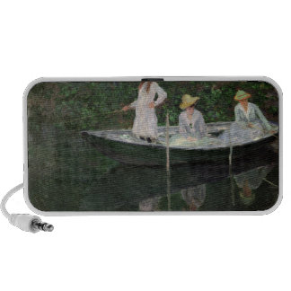 The Boat at Giverny, c.1887 Mini Speaker