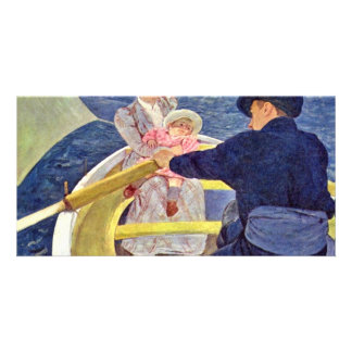 The Boat Trip By Cassatt Mary (Best Quality) Photo Greeting Card
