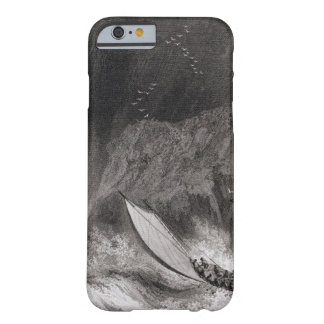 The boats off Walden Island in a snow storm, Augus Barely There iPhone 6 Case