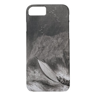 The boats off Walden Island in a snow storm, Augus iPhone 7 Case