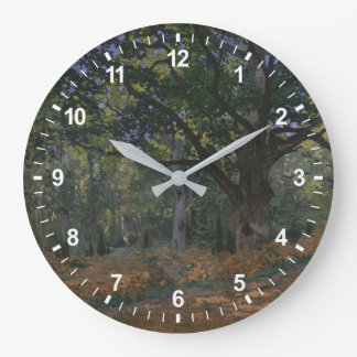 The Bodmer Oak, Fontainebleau Forest Large Clock